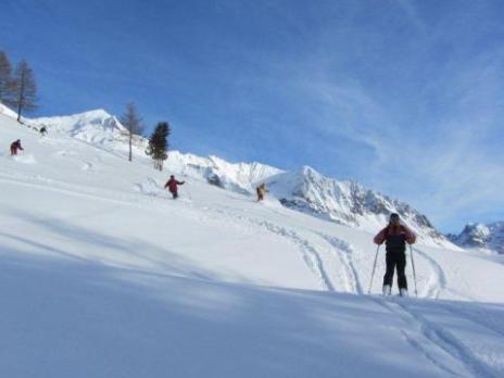 Ski hors piste aux Arcs - Vanoise