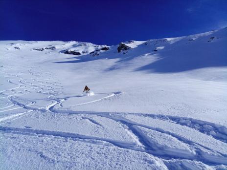 Ski hors piste à Val d'Isère - Grands Vallons