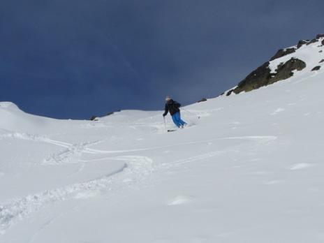 Ski hors piste rando au départ de Ste Foy Tarentaise