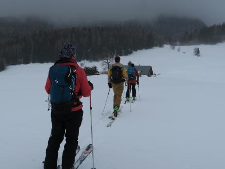 Randonnée à ski vanoise Dou des Cornes
