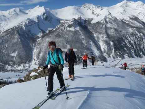Randonnée à ski Ubayette