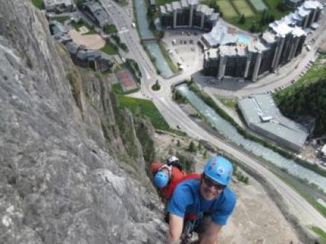 Via ferrata de Val d'Isère partie supérieur