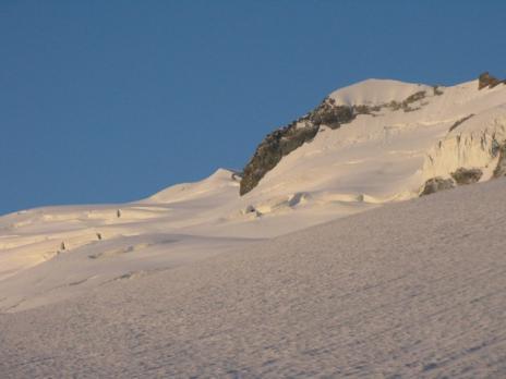 alpinisme au dôme de la sache