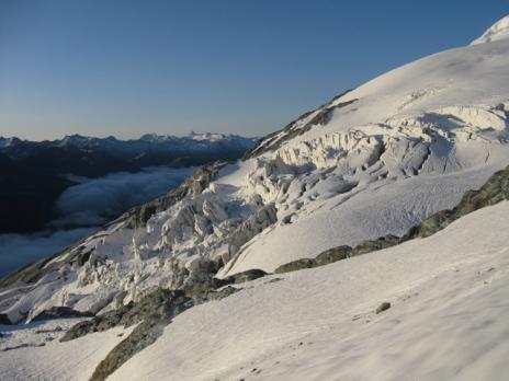 randonnée glaciaire au dôme de la sache