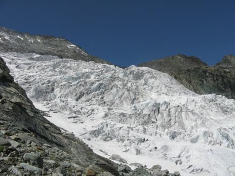 Le glacier de la Martin