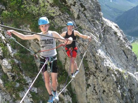 via ferrata de Peisey