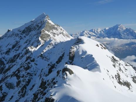 Vers le Mt Pourri