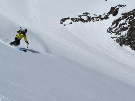 Les Arcs ski hors piste - Aiguille Rouge - guides des arcs