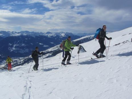 Ski de randonnée L'Aiguille de Praina - Bourg Saint Maurice