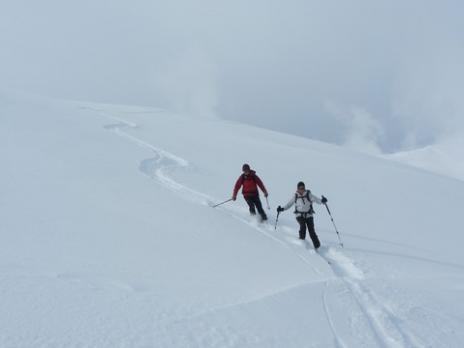 Descente du Dôme de Vaugel Beaufortain