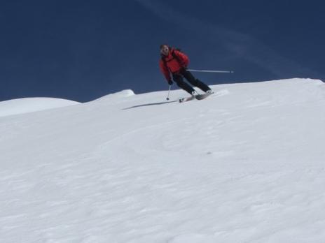 Ski de randonnée le glacier des Glaciers