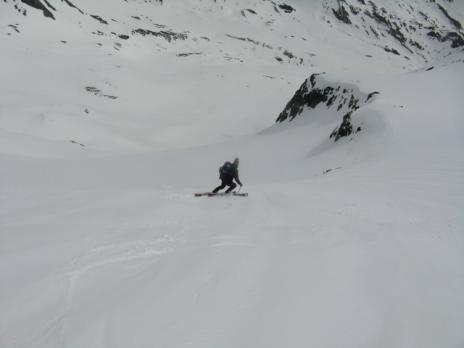 Randonnée à ski en Vanoise, le Miravidi
