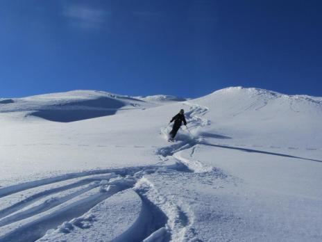 Les Arcs initiation ski de randonnée