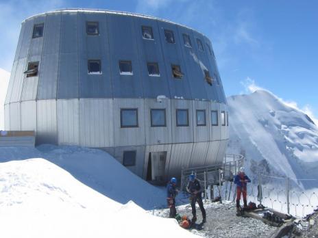 Ascension du Mont Blanc.