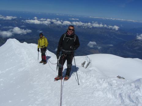 Ascension du Mont Blanc, l'arête des Bosses