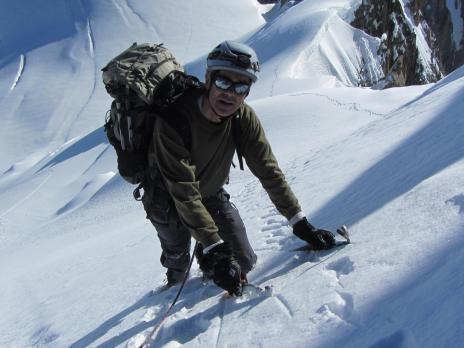 Mont Maudit arête Kuffner