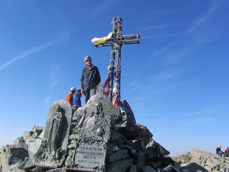 Le Mont Viso par l'arête Est - Le sommet