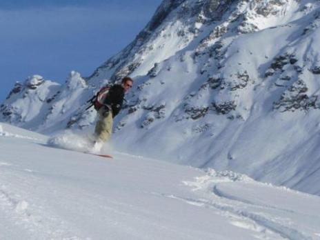 Pardiski ski hors piste avec les guides des Arcs