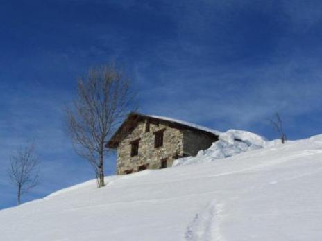 Paysage de montagne - massif du Beaufortain - Savoie