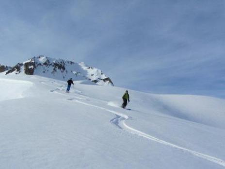 ski de randonnée - massif du Beaufortain - Savoie