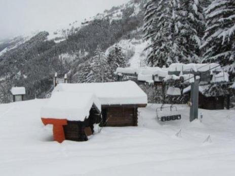 piste des Ecudets - La Rosière le 7 décembre 2012