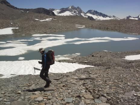 Les lacs glacés versant Maurienne
