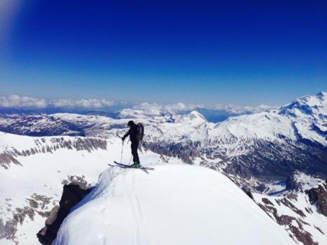 randonnée à ski les arcs