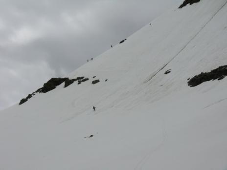 descente vers la Maurienne