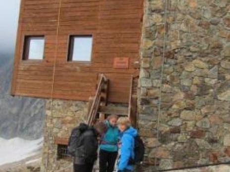 Départ du refuge Robert Blanc - massif du Mont Blanc