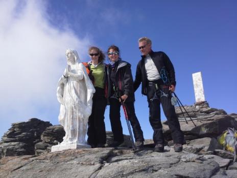 Le sommet du Ruitor