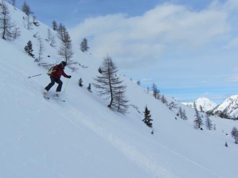 Ski hors piste à Sainte Foy Tarentaise