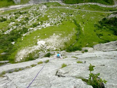 Escalade à Seloge