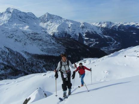 Ski de randonnée au départ de Ste Foy Tarentaise