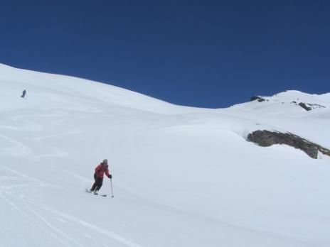 Ski de randonnée en Vanoise La Pointe Rousse