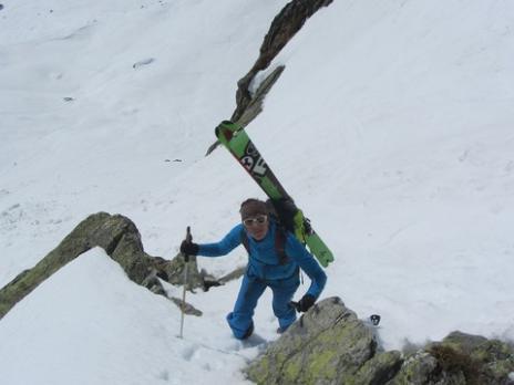Ski de randonnée pointe de Cerdosse