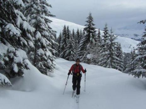 Ski de randonnée dans le Beaufortain avec les guides des Arcs