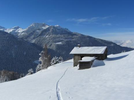 1 ère traces ski de randonnée en Vanoise