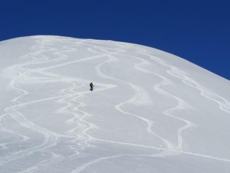 Le sommet du Mont Rosset Beaufortain