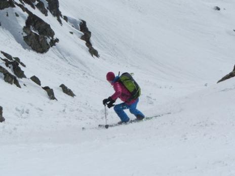 Ski de randonnée dans le Beaufortain Pointe de Cerdosse
