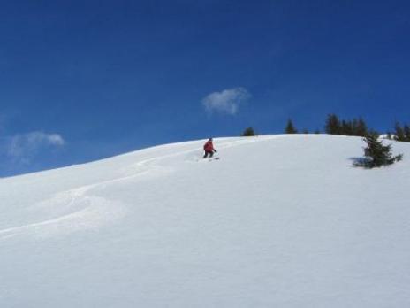 ski de randonnée avec les guides des Arcs
