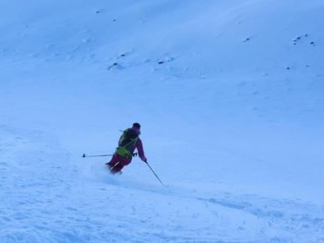 ski de randonnée dans le Beaufortain