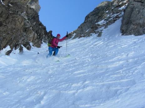 Ski de randonnée dans le Beaufortain Rocheboc