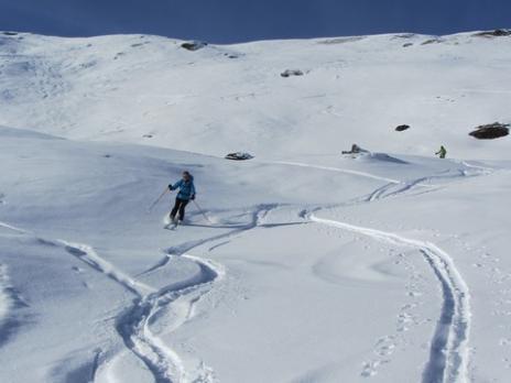 Ski de randonnée dans le Beaufortain Pointe de Dzonfié