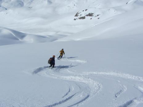 Ski de randonnée dans le Beaufortain - Guides des Arcs