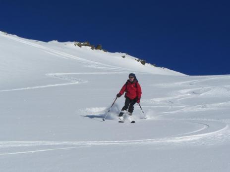 Pointe de la Grande Journée - ski de randonnée dans le Beaufortain