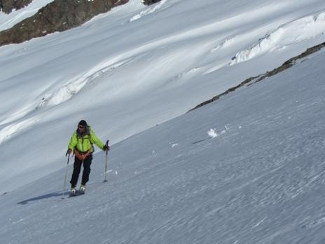 Ski de randonnée Petite Aiguille des Glaciers