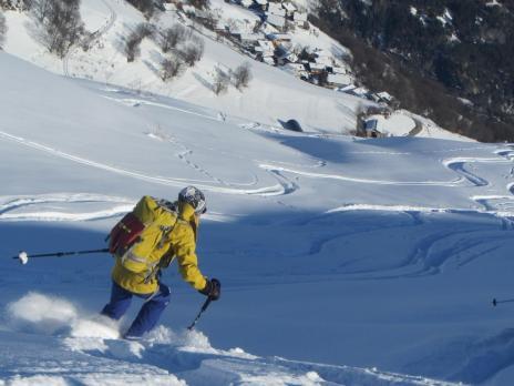 Ski de randonnée au départ de Bourg Saint Maurice- Massif du Beaufortain