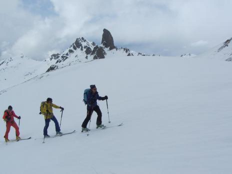 Ski de randonnée dans le Beaufortain - Col de Presset