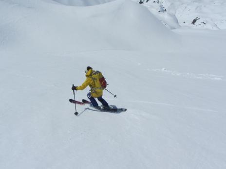 Ski de randonnée en Tarentaise - Le Ruitor