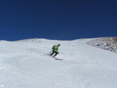 ski de randonnée en Vanoise - descente du Dou de Moutiers